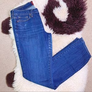 Lucky Brand Sofia Straight Leg Jeans